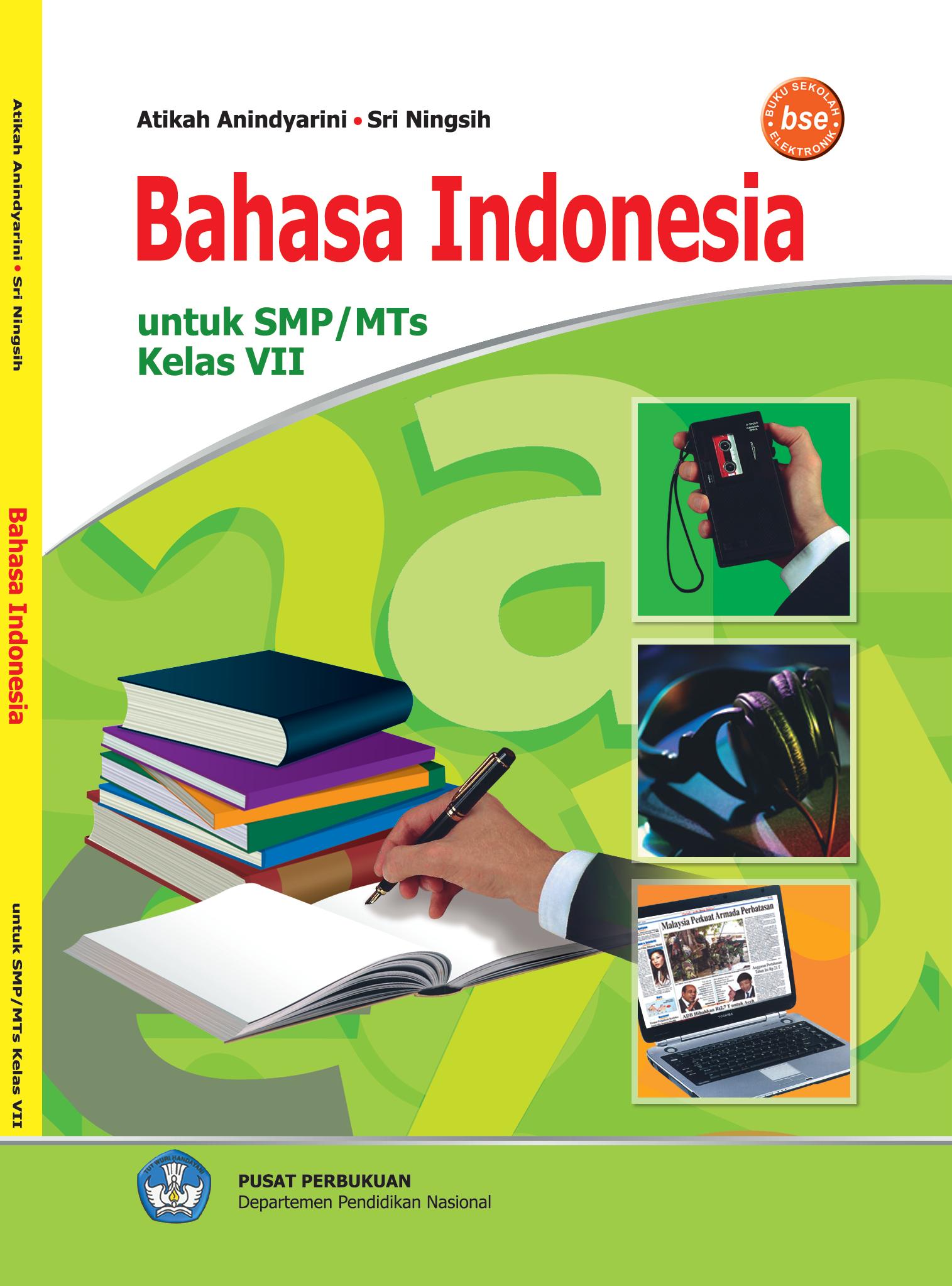 Buku Teks Bahasa Indonesia Untuk Smp M Ts Smp Negeri 1
